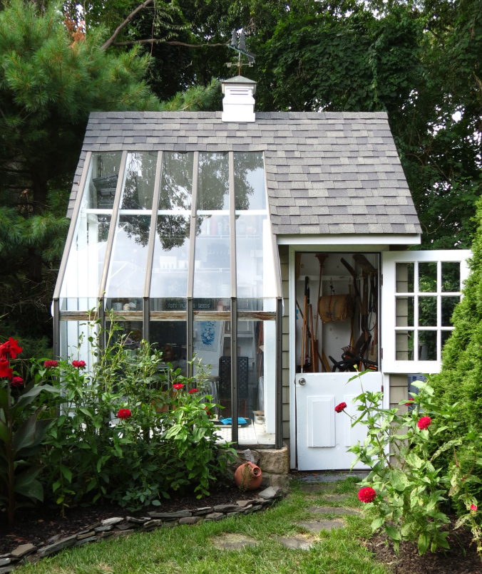 Potting and Storage Shed Plan