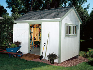 Capacious Storage Shed Plans