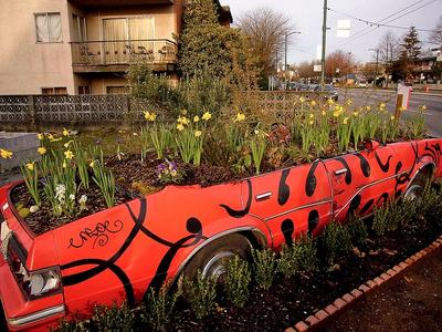 Car as a planter