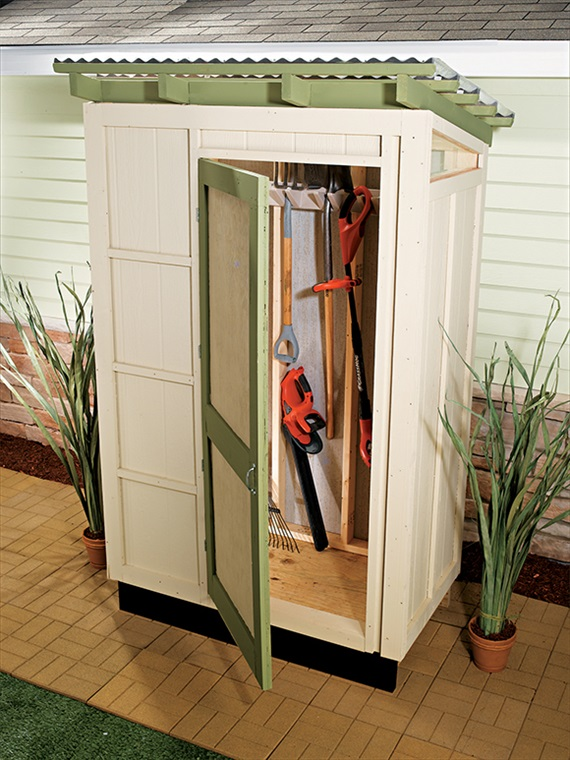 Compact Garden Storage Shed