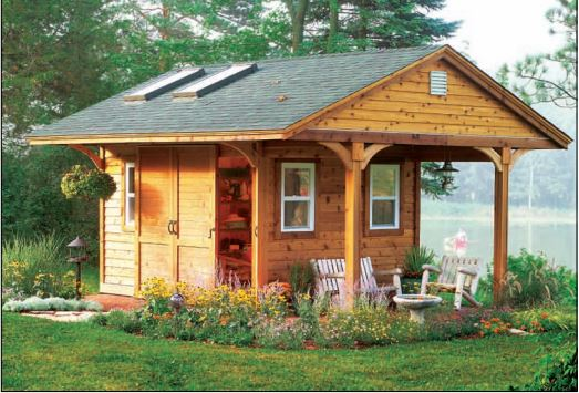Garden Shed Addition