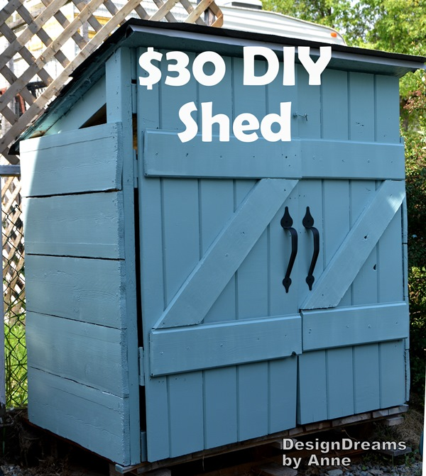 Mini Shed For Garbage