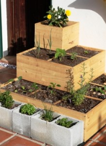 Elevated Square Foot Gardening: