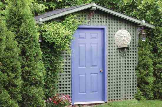 One Door Garden Storage Shed