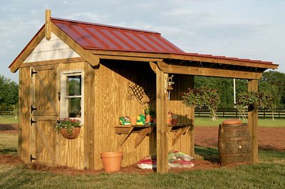 Potting Shed for your land