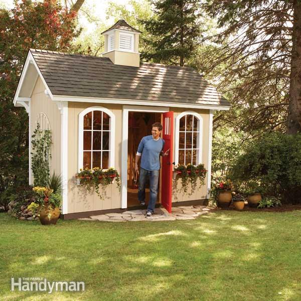 10 Inspiring Garden Shed Plans And Ideas-Do It Yourself | The Self