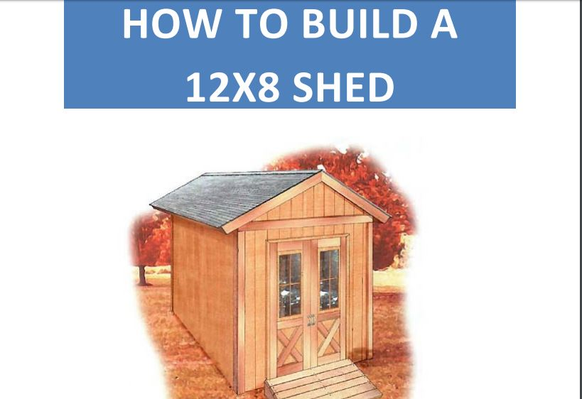 Storage Shed With Ramp