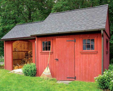 Two-In-One Garden Shed Plan
