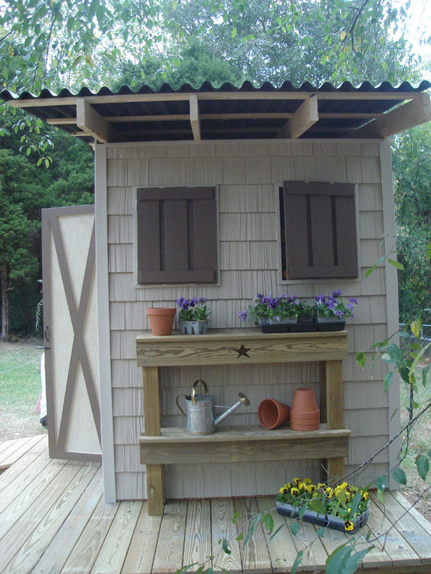 10 inspiring garden shed plans and ideas do it yourself for Garden building ideas