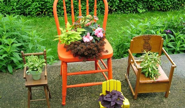 Deck Garden Ideas built in planter ideas 20 Unique Container Gardening Ideas For Deck Patio Or Yard