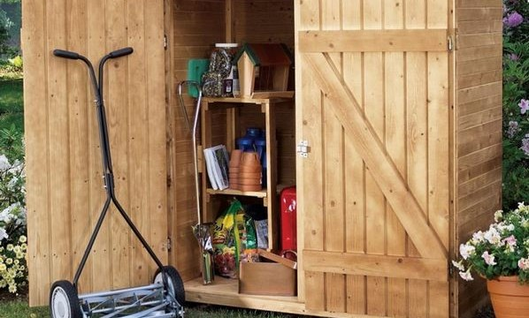 10 storage shed plans you can build on a diy budget the self sufficient living. Black Bedroom Furniture Sets. Home Design Ideas