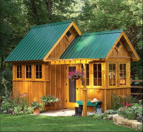 35 Garden Shed Plans For Storing Gardening Tools & Outdoor ...