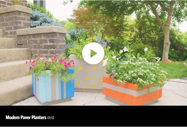 Attrayant Large Outdoor Planter Boxes From Patio Pavers