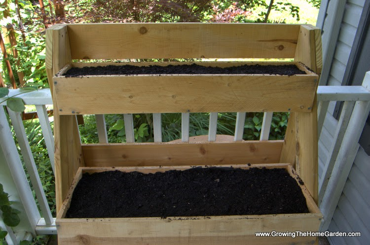 Multi Level Raised Planter Box