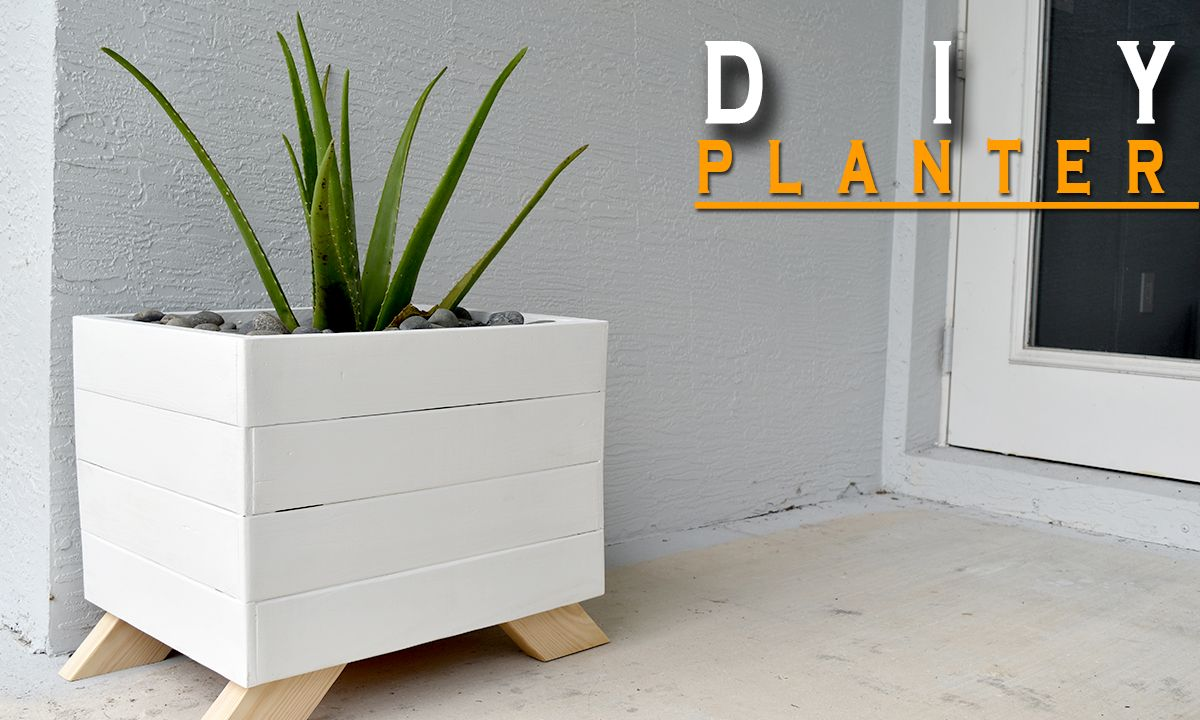 37 Outstanding Diy Planter Box Plans Designs And Ideas The Self Wiring Diagram For Outside Phone From Pallets