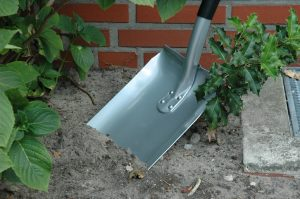 Shovels for gardening