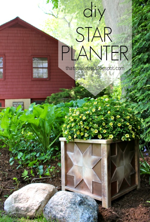 Star Planter Box design