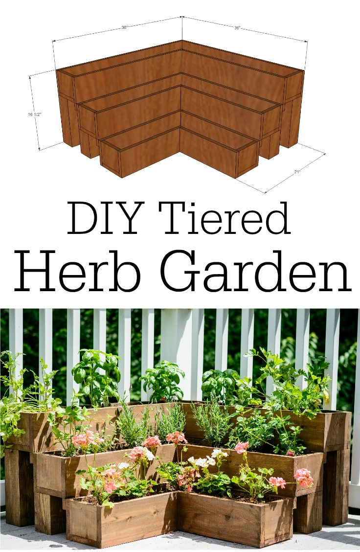 37 Outstanding Diy Planter Box Plans Designs And Ideas The Self Know More About Diagram Of A Plant Cell Front Yard Landscaping Tiered Herb Garden Tutorial