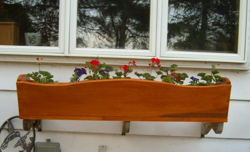 Wooden Flower Box Designs