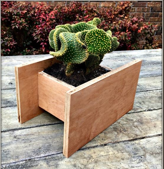 Rectangle Raised Flower Box Planter Bed 2 Tier Soil Pots: 37 Outstanding DIY Planter Box Plans, Designs And Ideas