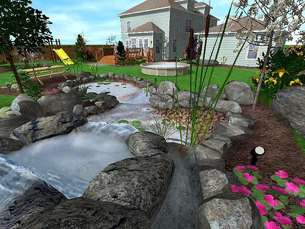 8 free garden and landscape design software the self for Pool drawing software