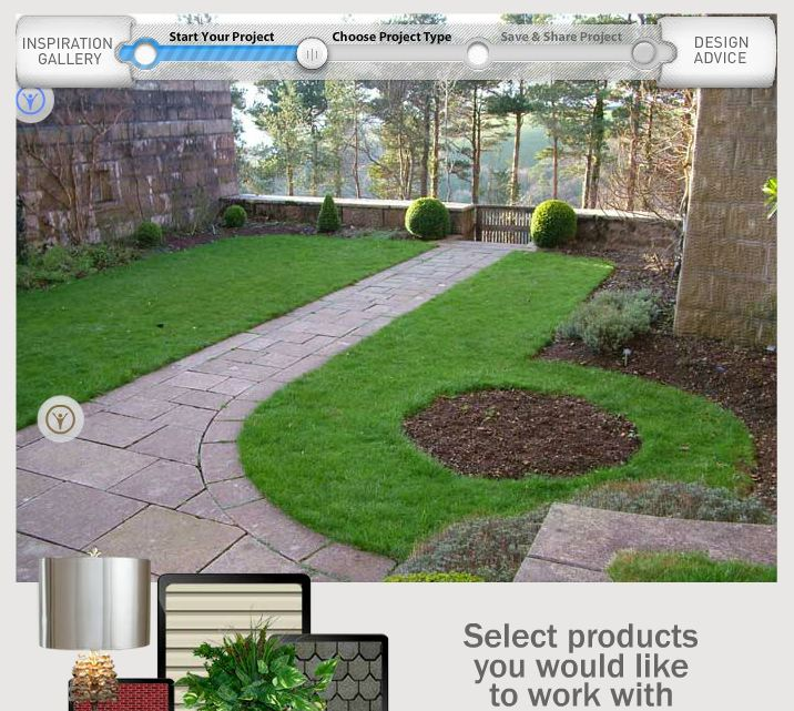 DIY landscape design software