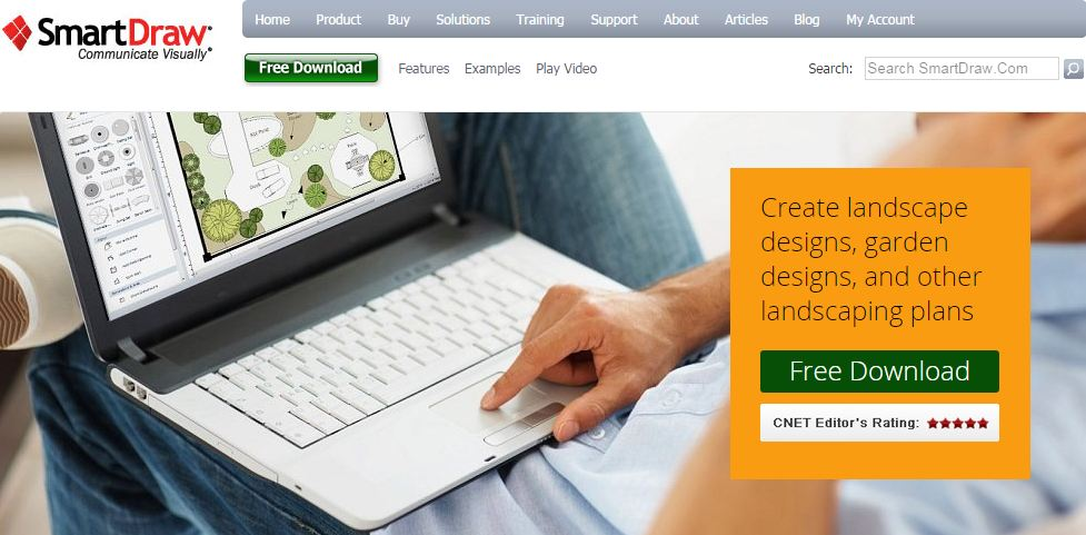 Free Garden And Landscape Design Software The SelfSufficient - Computer program for backyard design