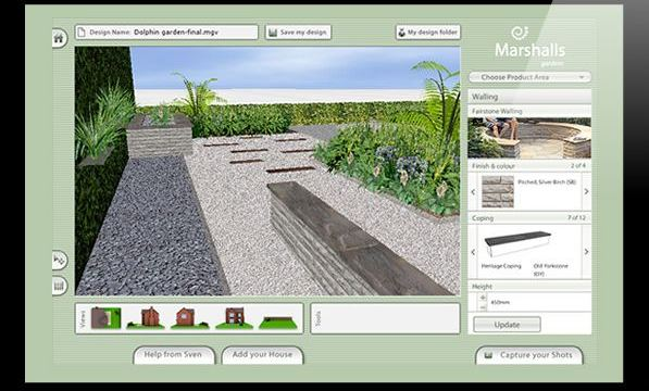 Amazing ... Garden Design With Free Garden And Landscape Design Software The  SelfSufficient With Garden Wall Ideas From