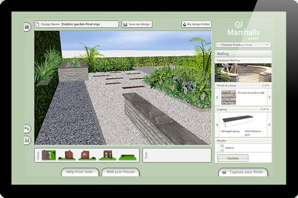 garden visualizer free landscape design software