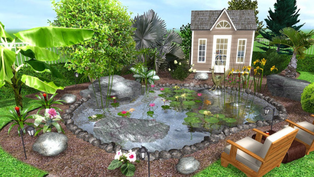 8 free garden and landscape design software the self for How to design garden layout