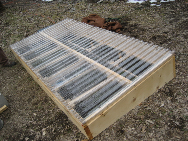 The Seed Library Cold Frame Plan