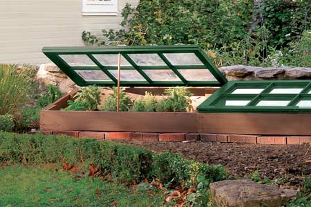 10 easy cold frame plans to extend the growing season the self sufficient living. Black Bedroom Furniture Sets. Home Design Ideas