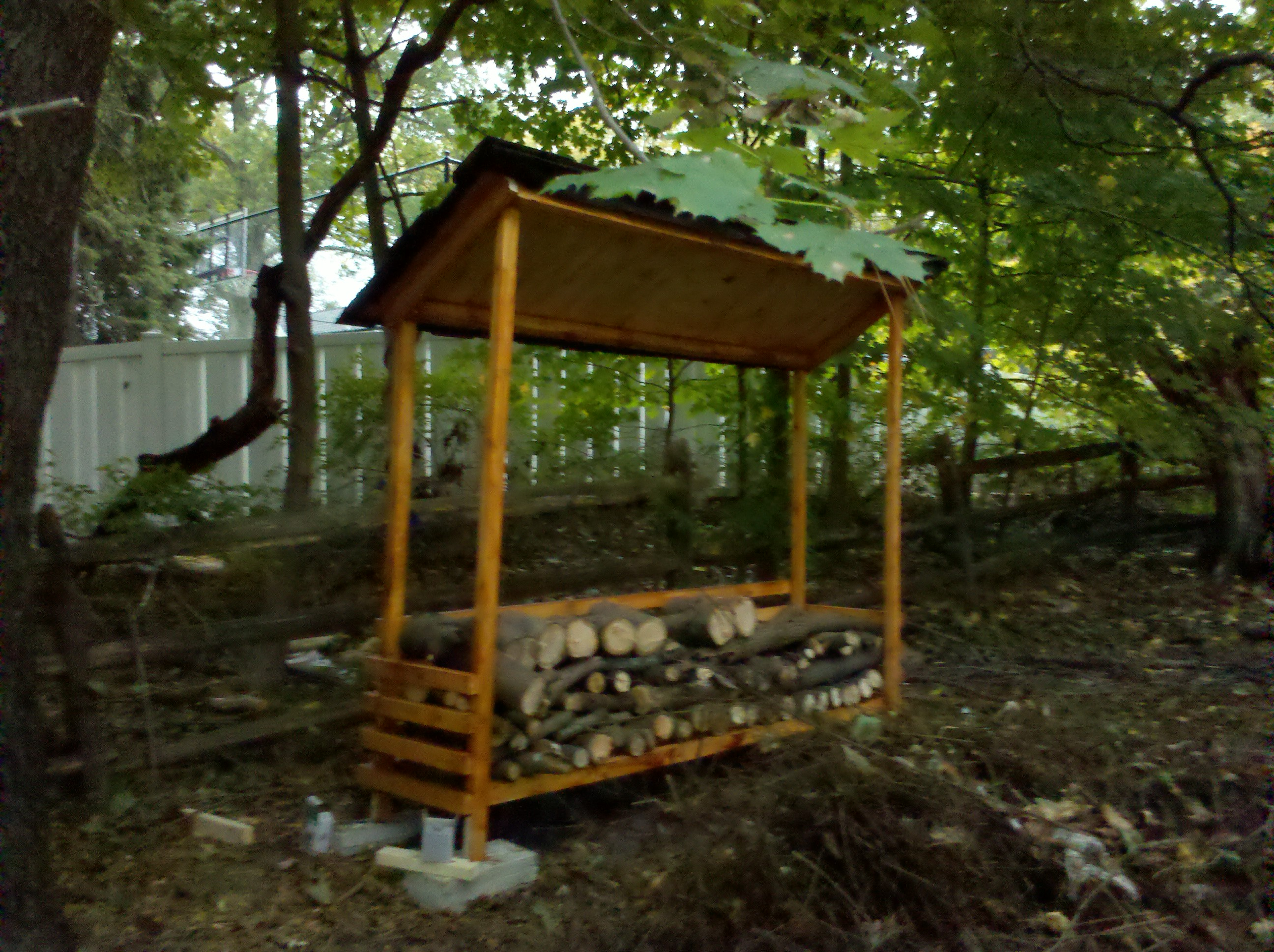 10 Wood Shed Plans to Keep Firewood Dry | The Self-Sufficient Living