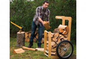 Firewood Shed Cart