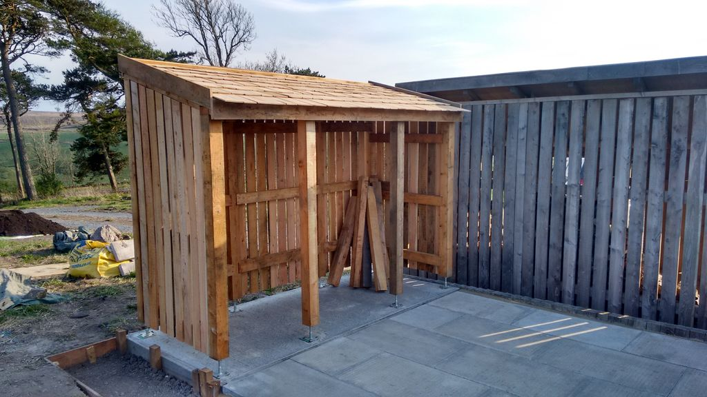 Smaller Wood Shed