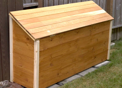 Wood Shed Box
