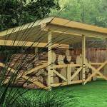firewood shed plans