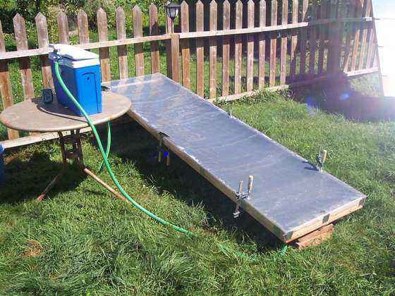 Another Simple DIY Solar Water Heater