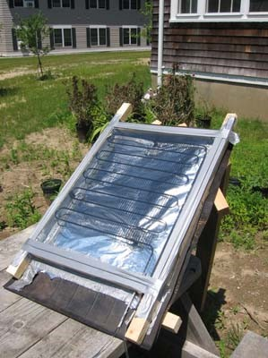DIY Solar Panel Water Heater