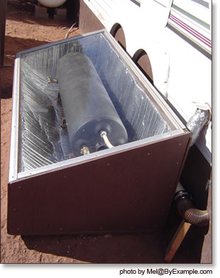 Solar Hot Water Batch Collector