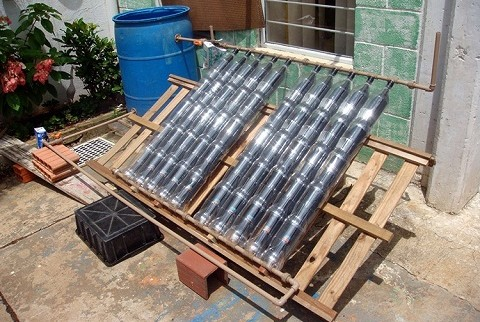 Making A Home Made Solar Air Heater