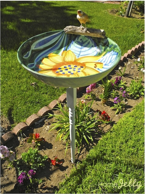 $5 DIY Bird bath