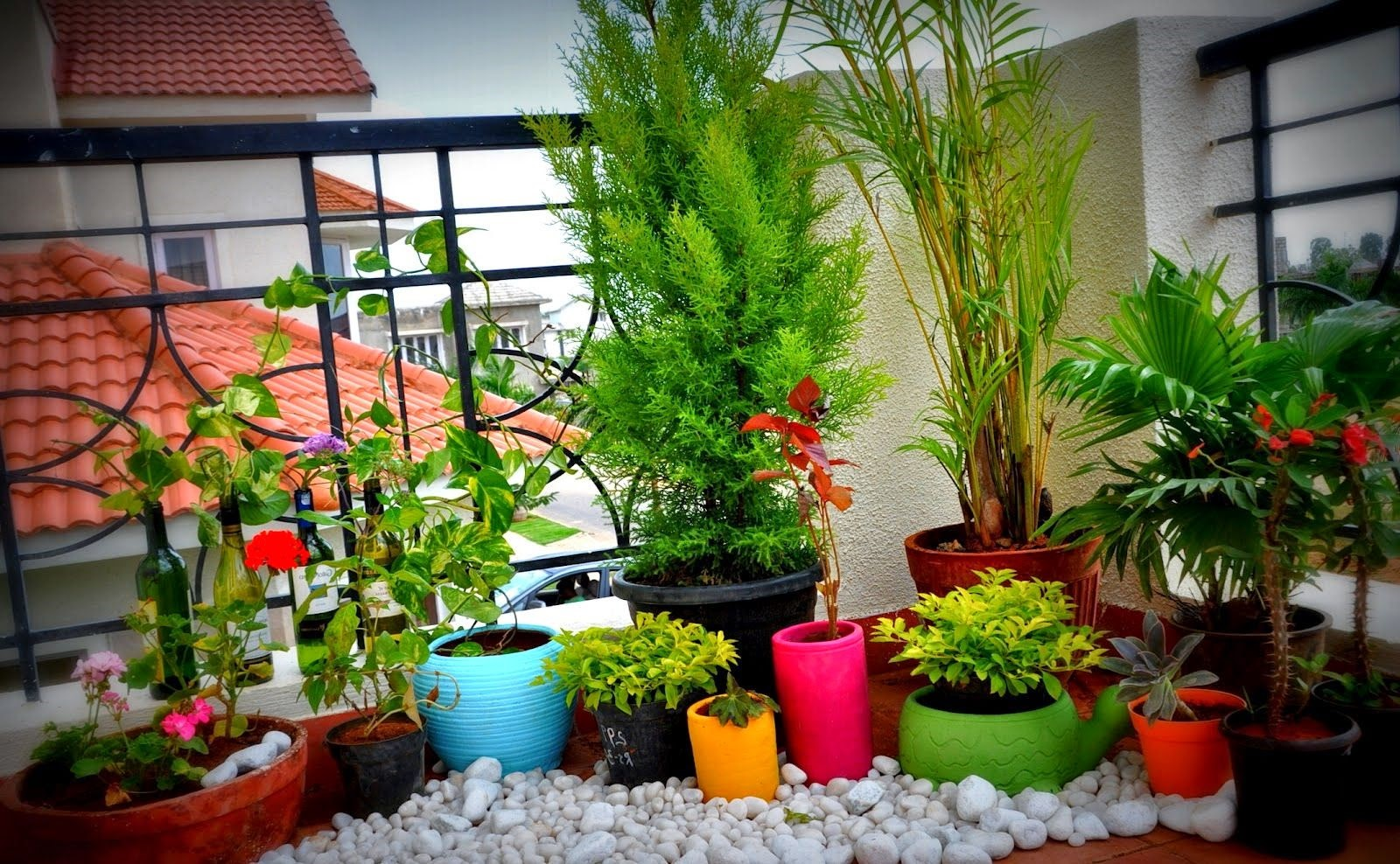 balcony gardening idea - Garden Ideas In Small Spaces
