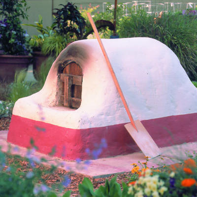 how to make a pizza oven outside