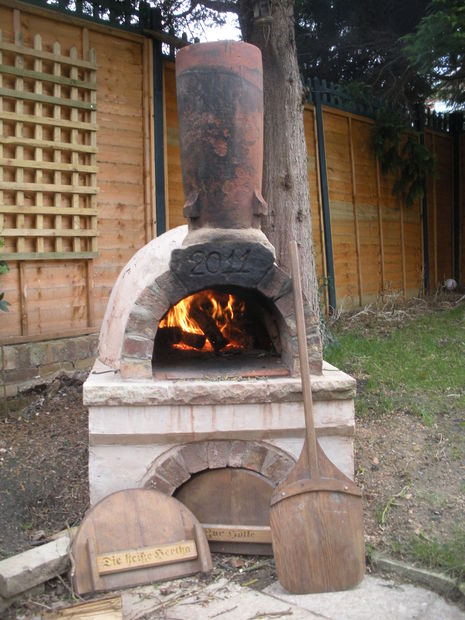 Clay made Bread & Pizza Oven
