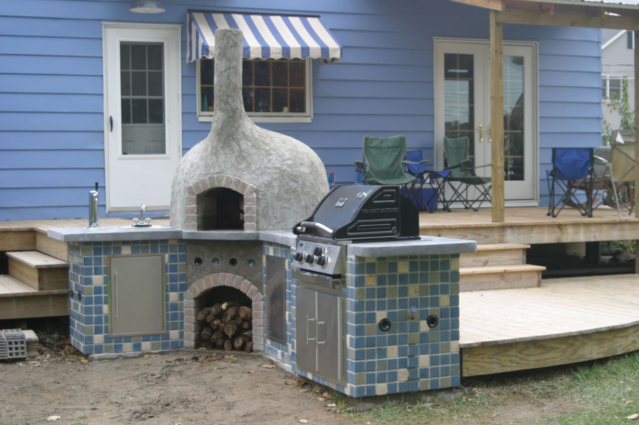 Home Wood Oven ~ Wood fired pizza bread oven plans for outdoors backing