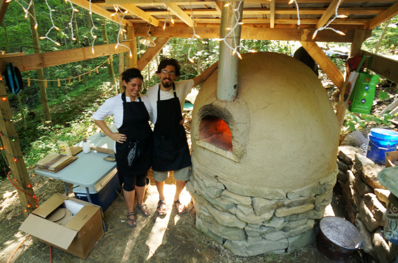 Outdoor Mud Oven
