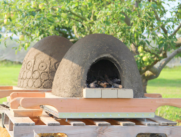 Wood Fired Earth Oven