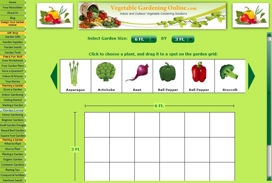 7 vegetable garden planner software for better gardening for Best vegetable garden planner