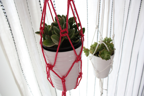 Simple Diy Hanging Planter